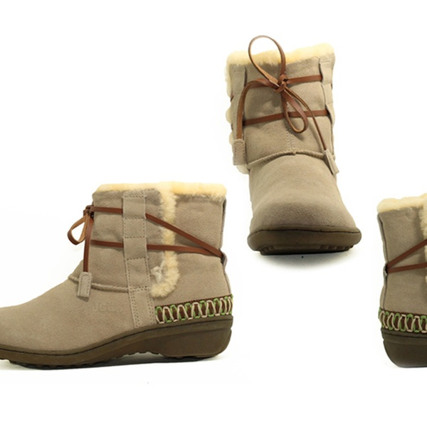 3ab412e44c6 From $75 for a Pair of Ozlamb UGG Short or Mid Wedge Boots (Don't Pay up to  $299)