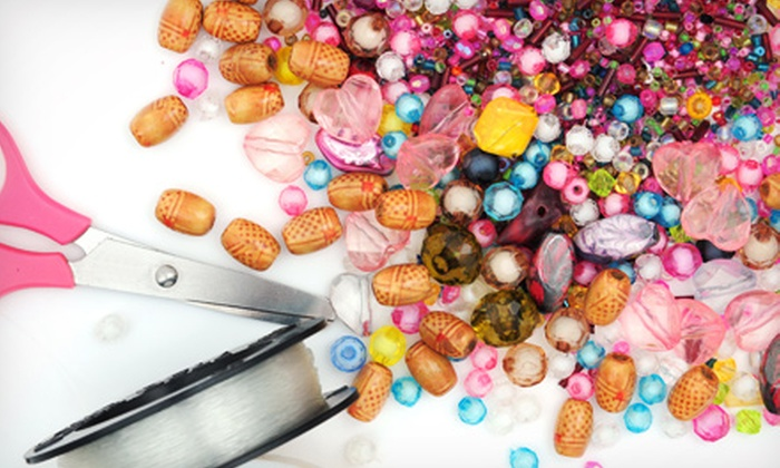The Bead Shop  - Long Beach: Beading 101 or 201 Class and Supplies for Two or Four at The Bead Shop  (Up to 56% Off)