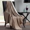 Plush Reversible Throw Blanket