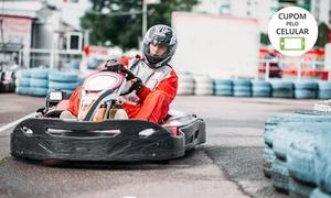 Race Kart: Bateria de 30 minutos de kart para 1, 2 ou 4 pessoas na Race Kart – Shopping Passeio das Águas