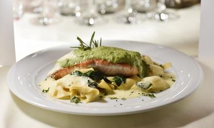 Wertgutschein über 40 € oder 80 € anrechenbar auf die gesamte Speisekarte für 2 oder 4 Personen im Frankfurter Hofgarten