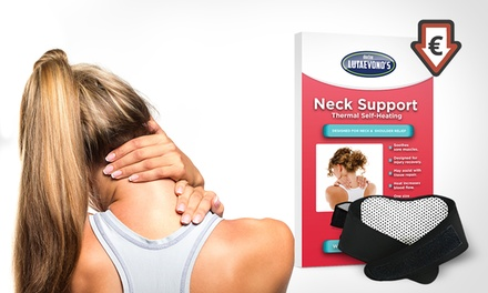 1x, 2x, 3x oder 4x Dr. Lutaevono's Thermo-Halsmanschetten zur Unterstützung des Nackens