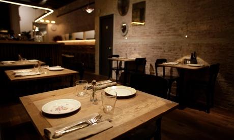 Menú gourmet para 2 o 4 personas con platos a elegir, postre y bebida desde 34,99 € en La Soperí