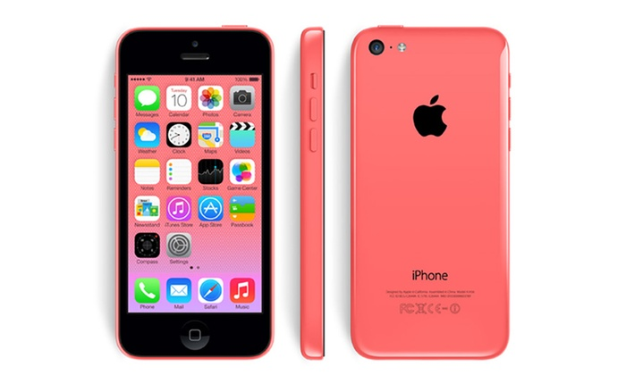 apple iphone 5c reconditionn groupon. Black Bedroom Furniture Sets. Home Design Ideas