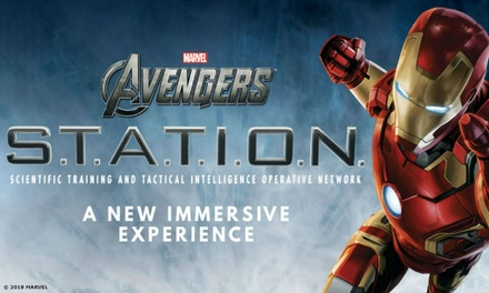 Marvel Avengers S.T.A.T.I.O.N. Interactive Experience: Standard, Child or Family, 30 Nov 31 Mar 2019