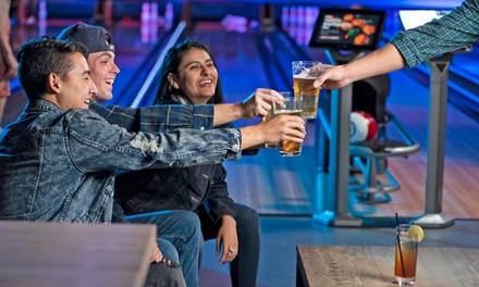 groupon.com - Two Games of Bowling for One, Two, Four, or Six with Shoes and Drinks at Scorz Sports Center (Up to 48% Off)