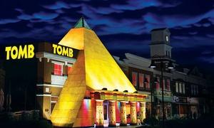 Egyptian Escape Room Adventure at TOMB Family Adventure (Up to 43% Off). Three Options Available.