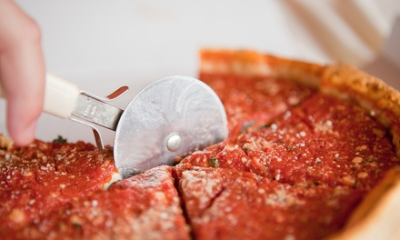 Two-Hour Build-Your-Own Deep-Dish Pizza Class for 2, 4, or Up to 16 People at 312 Pizza Company (Up to 58% Off)