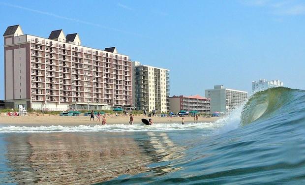 Dunes Manor Hotel Ocean City Beachfront Hotel Groupon Getaways