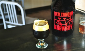 Up to 43% Off Beer Tasters and Growler from Red Tandem Brewery at Red Tandem Brewery, plus 9.0% Cash Back from Ebates.