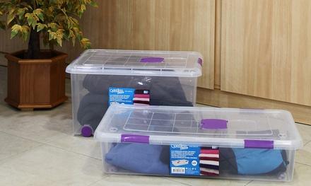 Caja de almacenamiento de 40 o 70 litros de capacidad