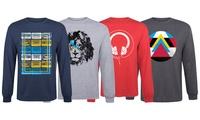 Men's Graphic Long-Sleeve Shirt
