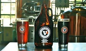 Vine Park Brewing Company : Growler Package or Six-Pack Growler Punch Card at Vine Park Brewing Company (Up to 51% Off)