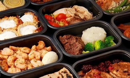 $50 for Delivery of 10 Healthy Prepared Meals from FuelFood.com ($104.50 Value)