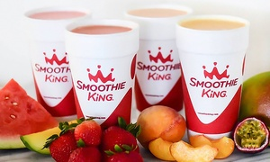 Smoothie King: Three or Five Groupons, Each Good for $5 Toward Smoothies at Smoothie King (40% Off). Two Locations.