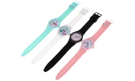 One, Two or Four Kids Flamingo Watches