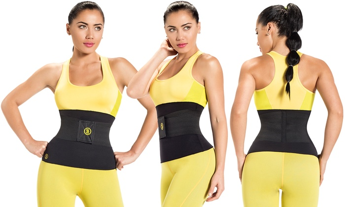 fcdb4bc3bb6bf Hot Shapers Waist Trimmer with Slimming Belt