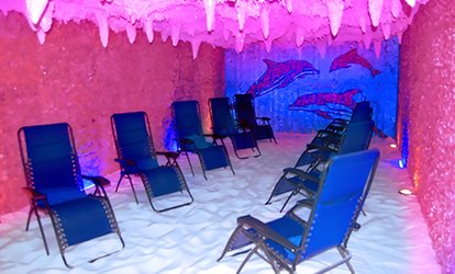 image for Three or Five 45-Minute <strong>Salt</strong>-Spa Sessions at <strong>Salt</strong> Cave (Up to 31% Off)