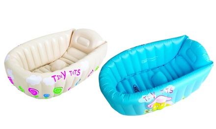 Vasca Da Bagno Per Bambini : Vasca da bagno gonfiabile in pvc con termometro per bambini