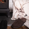 Men's Suede Sheepskin Slippers
