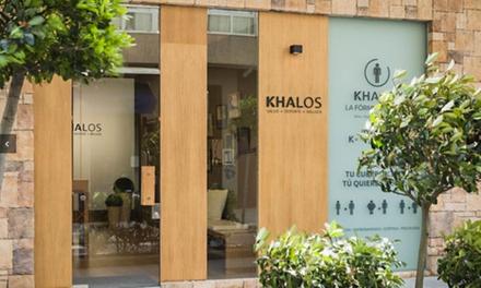 Limpieza facial en 10 pasos con masaje facial por 19,95 € en Khalos