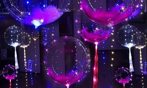 "18"" Bobo Helium Balloons with LED Light String (1-, 3-, or 5-Pack)"
