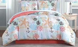 Belize, Sanibel, or Surf City Quilt or Bed-in-a-Bag Set (5- or 8-Pc.)