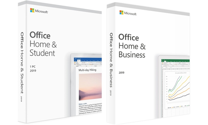 Microsoft Office 2019 Home & Student or Home and Business for Windows