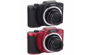 Minolta MN22Z 20MP 1080p Digital Camera with 22x Optical Zoom