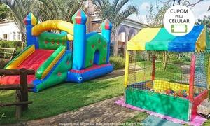 Day Happy Eventos: Day Happy:locação de piscina de bolinhas (opção com cama elástica e minitobogã inflável)