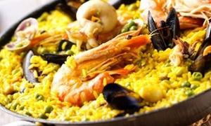 Al Andalus: Menu con paella valenciana e sangria per 2 o 4 persone al ristorante Al Andalus (sconto fino a 58%)