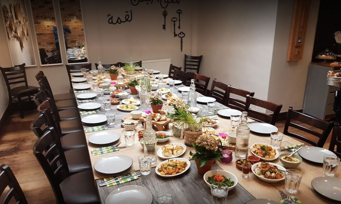 Eight- or 16-Course Mezze Meal with Optional Wine for Two or Four at Chamisse