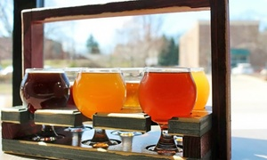 North Center Brewing Company: Tasting Flight for Two or Four at North Center Brewing Company (Up to 38% Off)