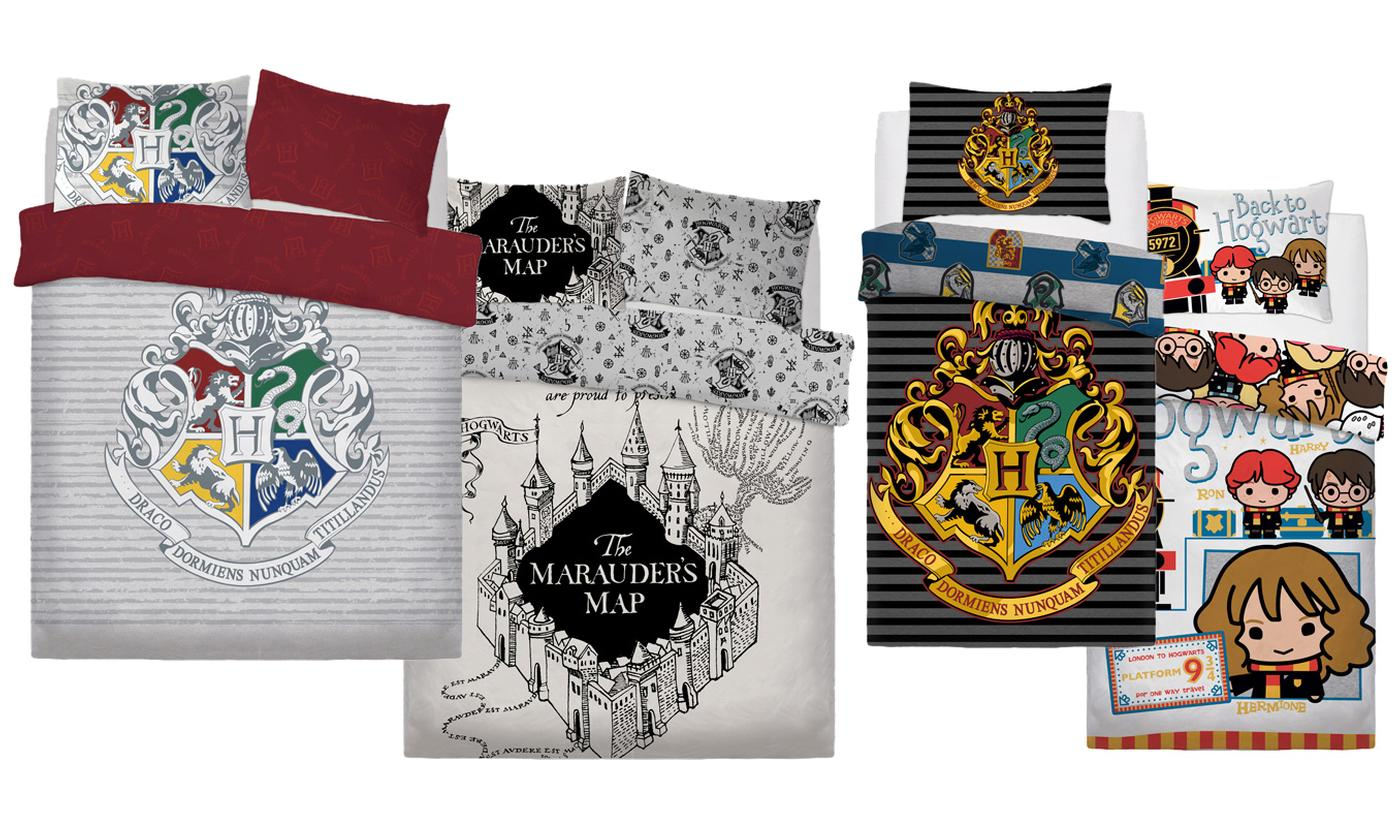 Harry Potter Reversible Duvet Set