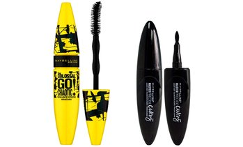 Maybelline Mascara and Eyeliner