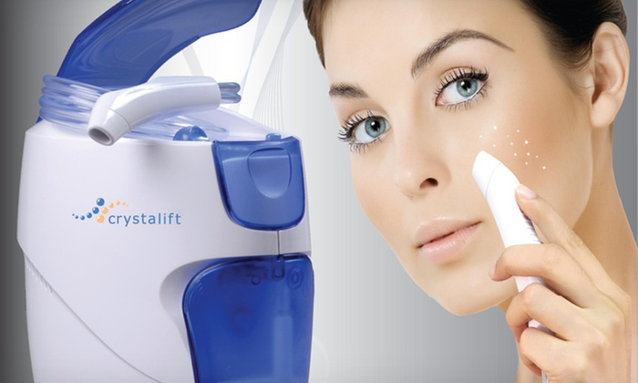At-Home Microdermabrasion System: $99.99 for a Crystalift At-Home Microdermabrasion System ($249 List Price). Free Shipping and Free Returns.