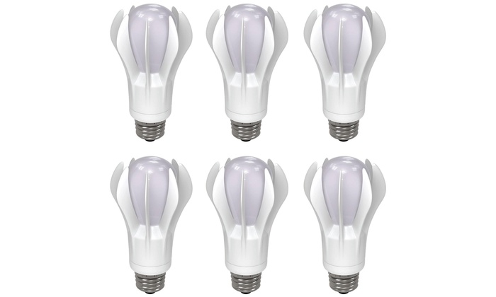 GE 75W Equivalent Soft White LED Bulbs (6-Pack)