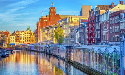 ✈ Amsterdam and Rotterdam: 4 or 6 Nights with Flights or Eurostar Train Tickets*