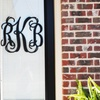 Up to 51% Off One or Two Vine Monogram Signs