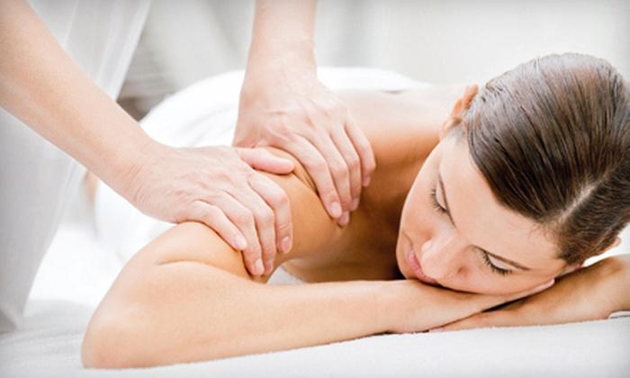 Moonflower Massage - Belmont: One or Three Customized 60-Minute Massages at Moonflower Massage (Up to 56% Off)