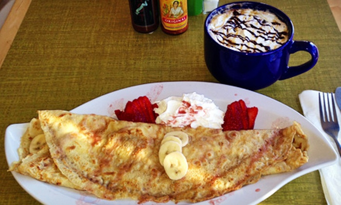 Hash - Sunny Side: Breakfast Hashes and Crepes at Hash (Half Off)