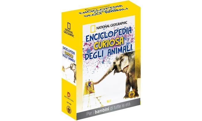 Groupon Goods Global GmbH: Enciclopedia curiosa degli animali di National Geographic in 3 DVD a 17,90 € (40% di sconto)