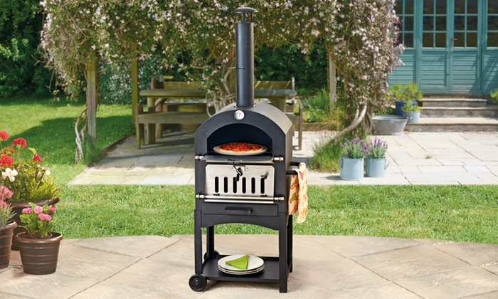 Charcoal Pizza Oven Groupon