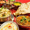 Menu indiano con dolce e vino