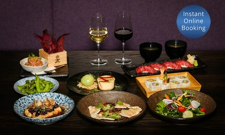 Japanese Chef's Tasting Menu + Dessert & Wine $69, 4 $138, or 8 $276 at Tokyo Laundry Up to $572 Value