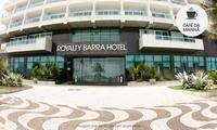 Rio de Janeiro: até 5 noites para 2 pessoas + café da manhã (opções em feriados) no Royalty Barra