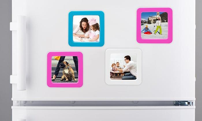 k hlschrankmagneten mit fotorahmen groupon goods. Black Bedroom Furniture Sets. Home Design Ideas