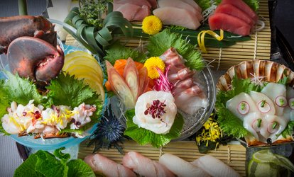image for Michelin Listed Seven-Course Japanese Tasting Menu for One, Two or Four at Kouzu (Up to 58% Off)