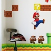 New Super Mario Brothers Wall Stickers (4-Pack)