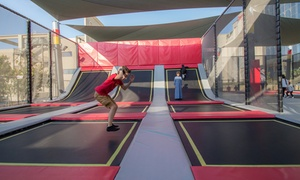 Xtreme Zone: 30-Minute or Full-Day Trampoline Park Access with Attractions Entry for One or Two at Xtreme Zone